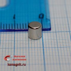 Неодимовый магнит диск 5х5 мм