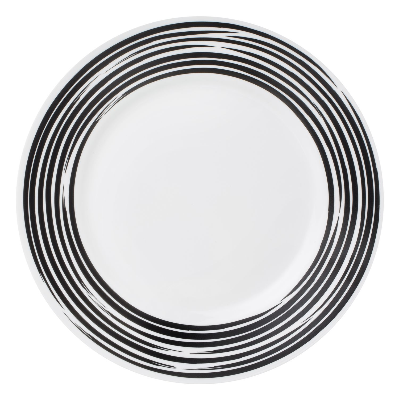 Тарелка обеденная 27 см Brushed Black, артикул 1118390, производитель - Corelle