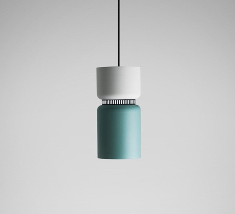 Подвесной светильник копия ASPEN S40 by B.Lux (белый+серый)