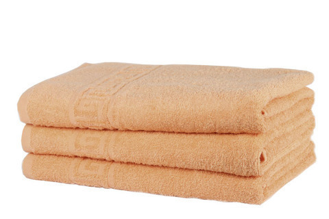 Полотенце махровое персиковое 40х70