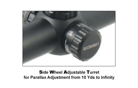 LEAPERS Accushot T8 Tactical 2-16X44 Mil-dot, 30мм с подсв. 36цв