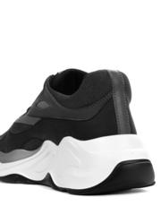 Кожаные кроссовки Iceberg 1717 черные