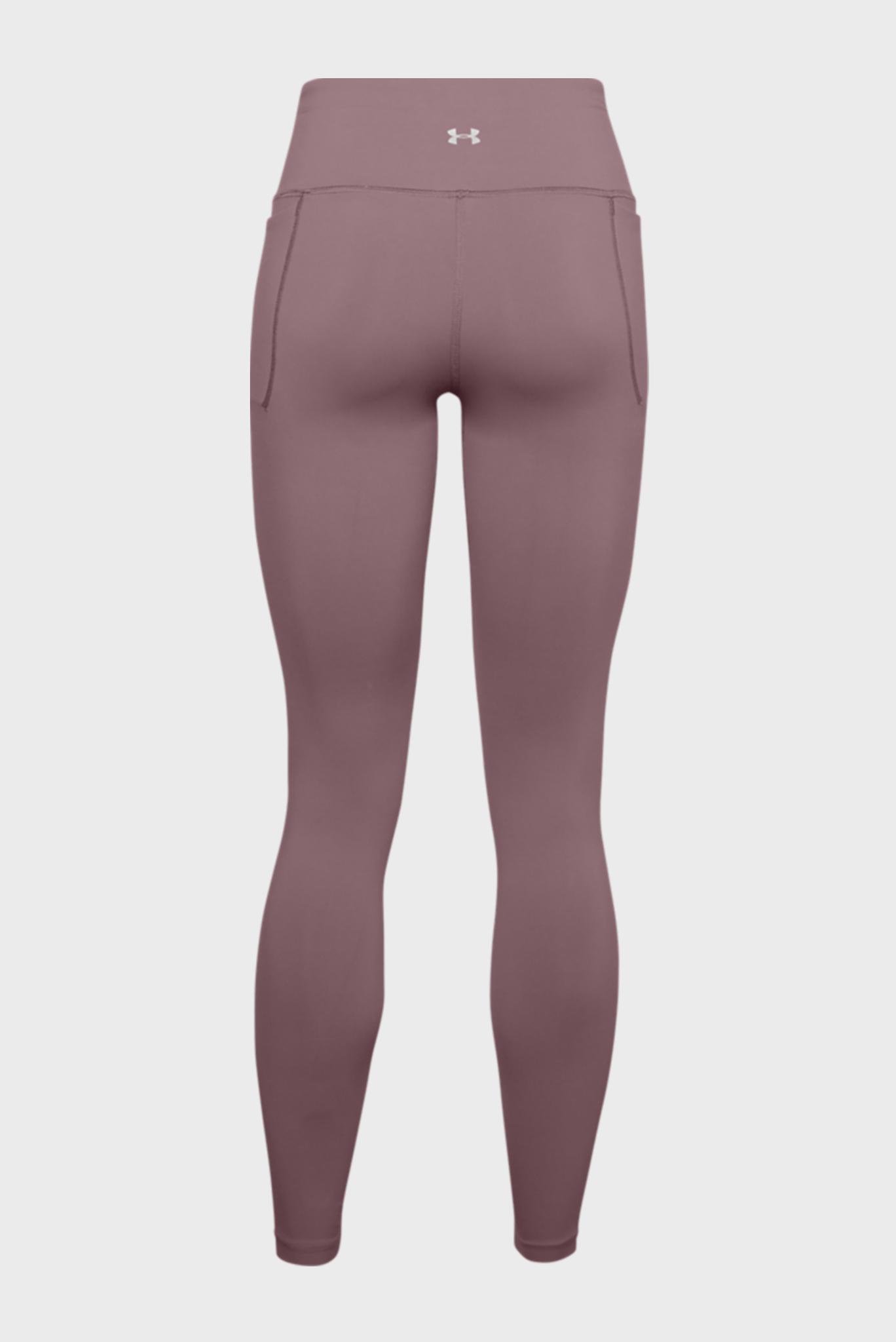 Женские розовые тайтсы UA Meridian Leggings Under Armour