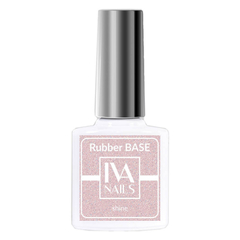 Rubber Base Shine №6, IVA NAILS, 8мл.