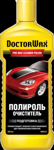 8257 Полироль-очиститель  PRE-WAX CLEANER POLISH 300 мл(b), шт