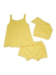 Комплект 1141 Мелонс ярко-желтый