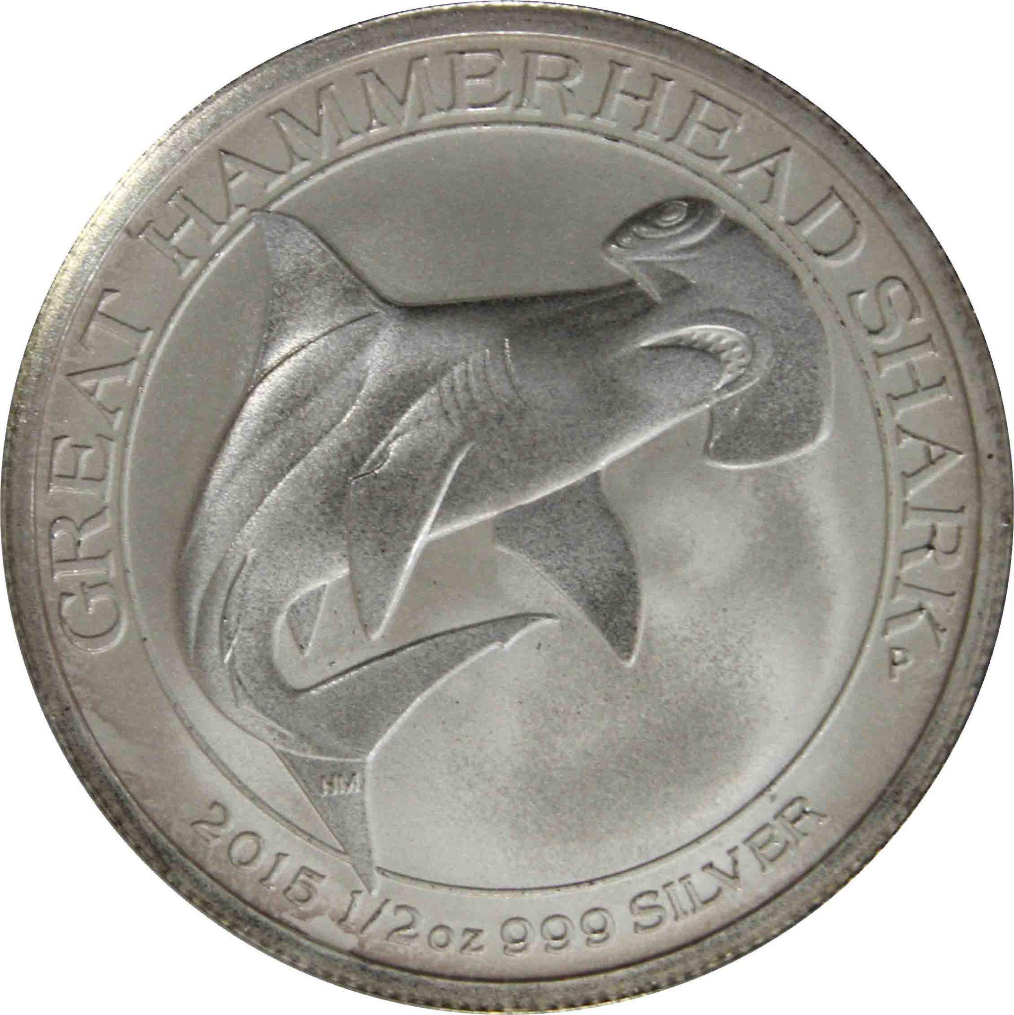 """50 центов """"Молот-рыба"""". Австралия. 2015г."""