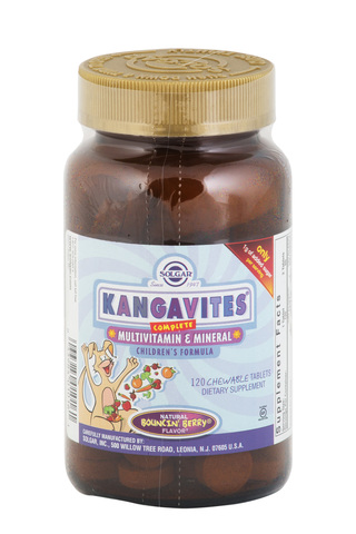 Solgar Kangavites мультивитамины и минералы для детей