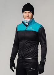 Элитная утеплённая лыжная куртка Nordski Pro Breeze-Black мужская