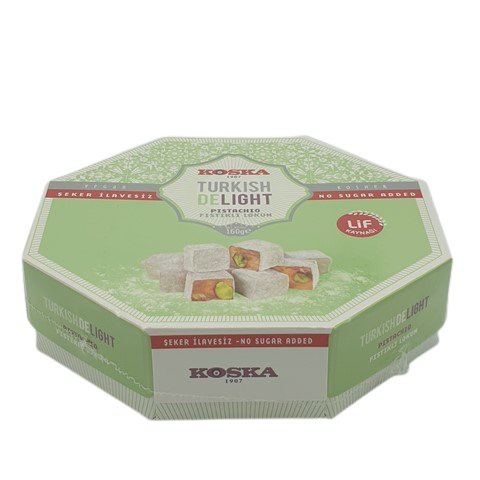 Рахат-лукум с фисташками без сахара KOSKA, 160 гр