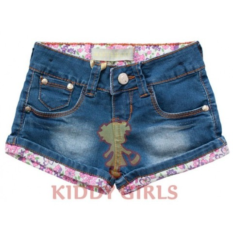 Little Flowers Denim 020