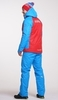 Детский тёплый прогулочный лыжный костюм Nordski National Red