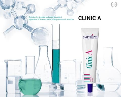 Лечебный крем против акне, 15 мл / Storyderm Clinic A