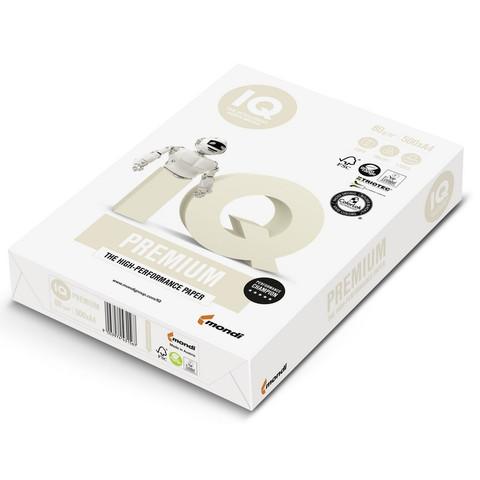 Бумага для офисной техники IQ Premium (А4, марка A+, 80 г/кв.м, 500 листов)