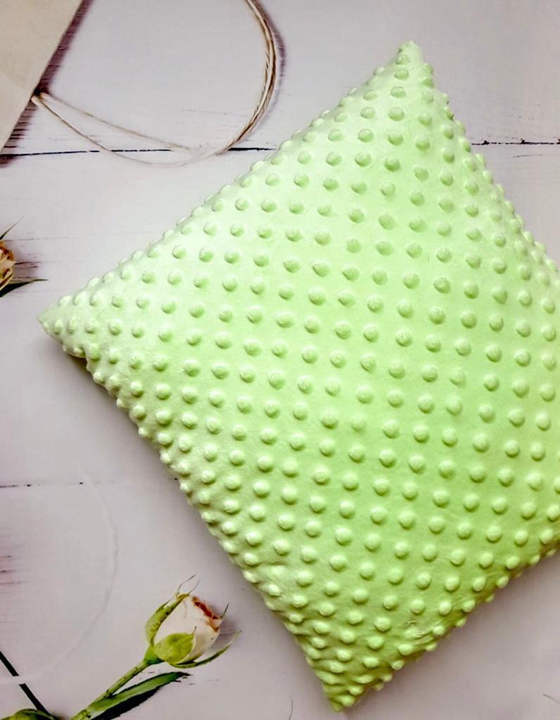 Плюшевый плед с подушкой, Салатовый