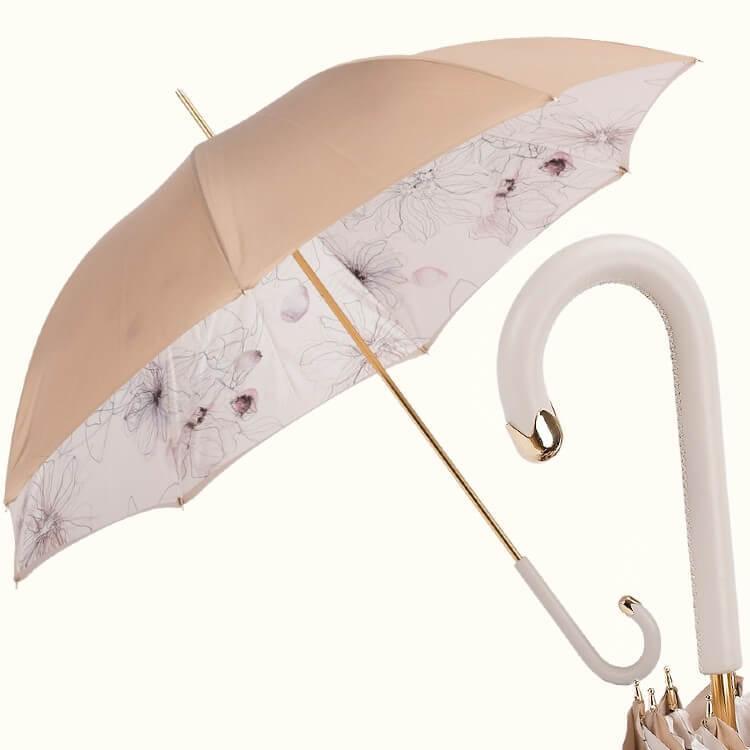 Зонт-трость Pasotti 5L976-3 M17 Awesome Ivory