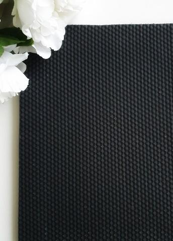 Микропористая резина 5 мм, Черный, размер 25*39 см