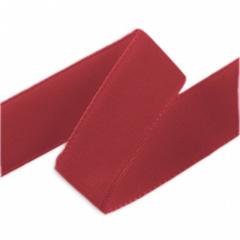 Лента Бархат Бордовый, 1,5 см * 22,85 м