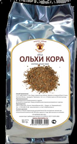 Ольхи кора (кора, 50 гр) (Старослав)