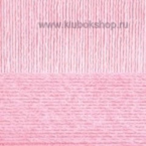 Пряжа Вискоза натуральная Пехорский текстиль Светлая бегония 180