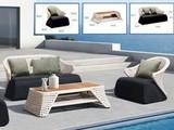 Комплект мебели из искусственного ротанга Чайлд Домино