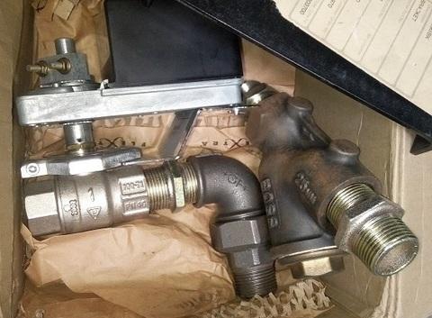 "Клапан шаровой для FK2 / FK4 (P200H2/P750/P675) / VALVE MOTOR BALL 1""BSP C/W 24V ACTUATOR АРТ: 596-8"
