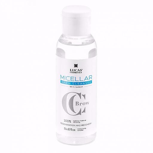 Мицеллярная вода для бровей CC Brow Micellar water 100мл