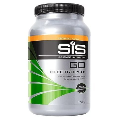 SiS Go Electrolyte Powder, Тропические фрукты, 1,6 кг.