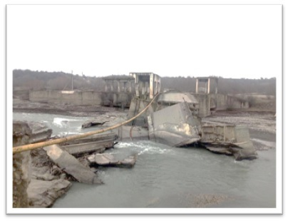 ПМООС. Реконструкция Аргунского гидроузла