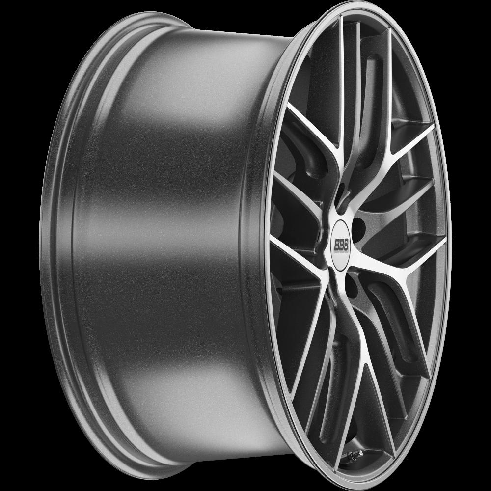 Диск колесный BBS CC-R 9x20 5x112 ET25 CB82.0 graphite/diamond cut