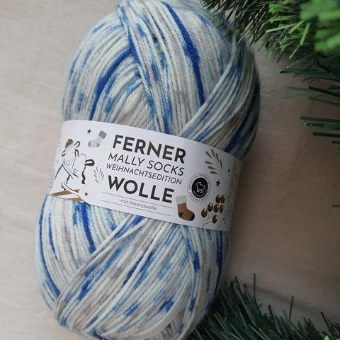 Ferner Wolle Mally Socks Weihnachts 23 купить