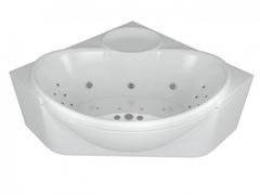 Ванна Aquatek Эпсилон 150х150 гидромассажная с экраном