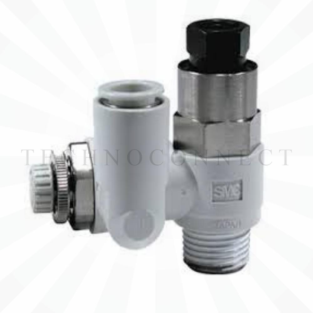 ASP630F-04-10S  Дроссель с управляемым обратным клапаном