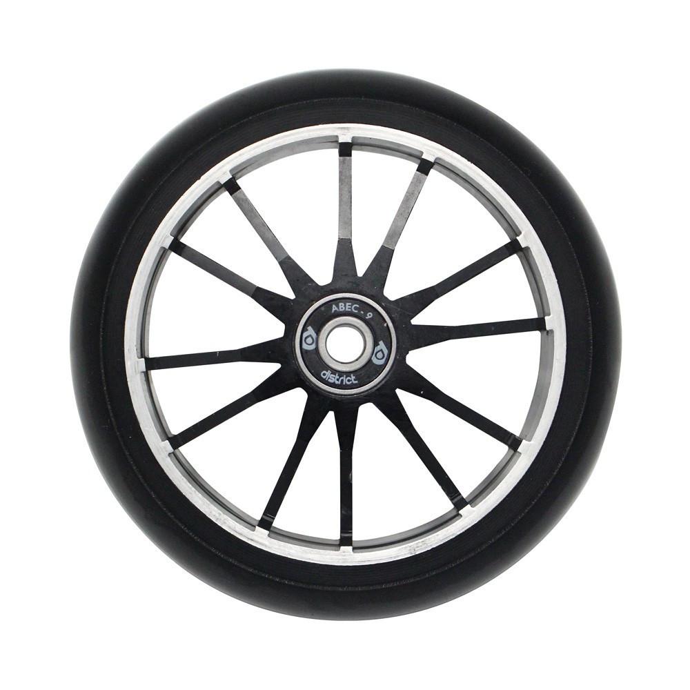 Колесо для самоката DISTRICT DG110 Wide Wheel Twin Core (Black)
