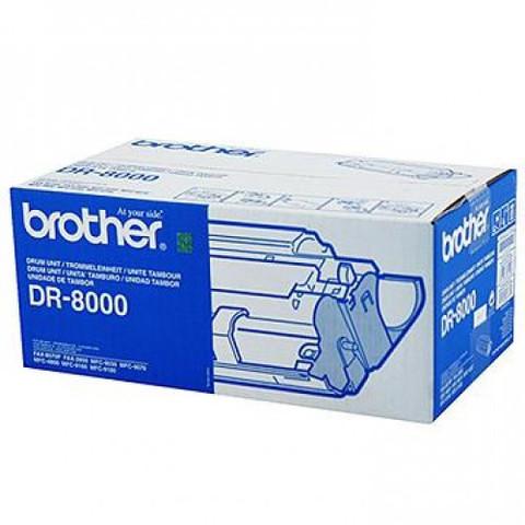 Оригинальный фотобарабан Brother DR-8000, черный