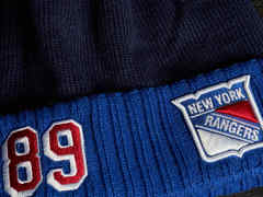Шапка NHL New York Rangers № 89