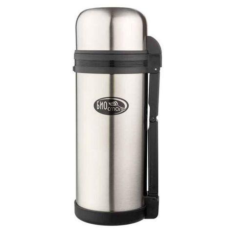 Термос универсальный (для еды и напитков) Biostal (1,5 литра), стальной