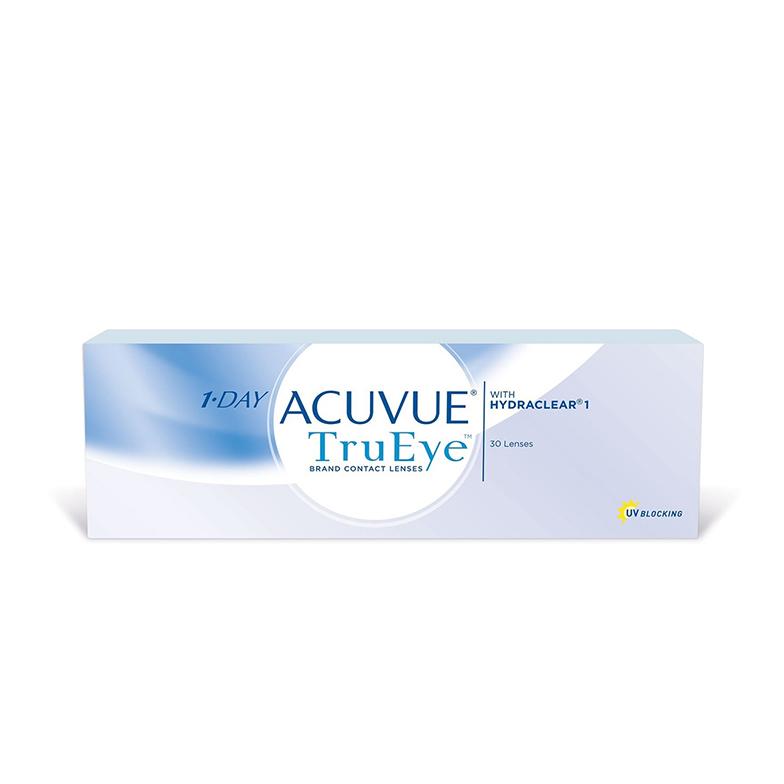 силикон-гидрогелевые линзы | 1-day acuvue trueye | 8.5