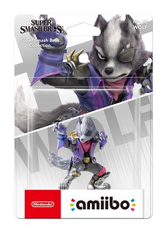 Фигурка Amiibo: Super Smash Bros. Wolf || Волк