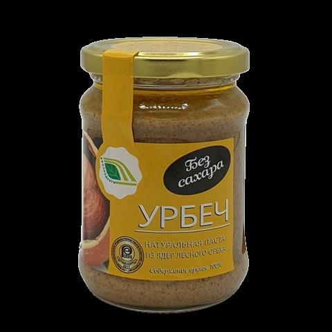 Урбеч натуральная паста из ядер лесного ореха БИОПРОДУКТ, 280 гр