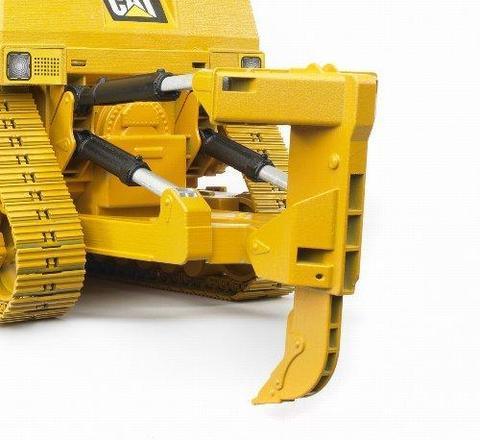 Bruder: Бульдозер гусеничный CAT (пластиковые гусеницы), 02-452