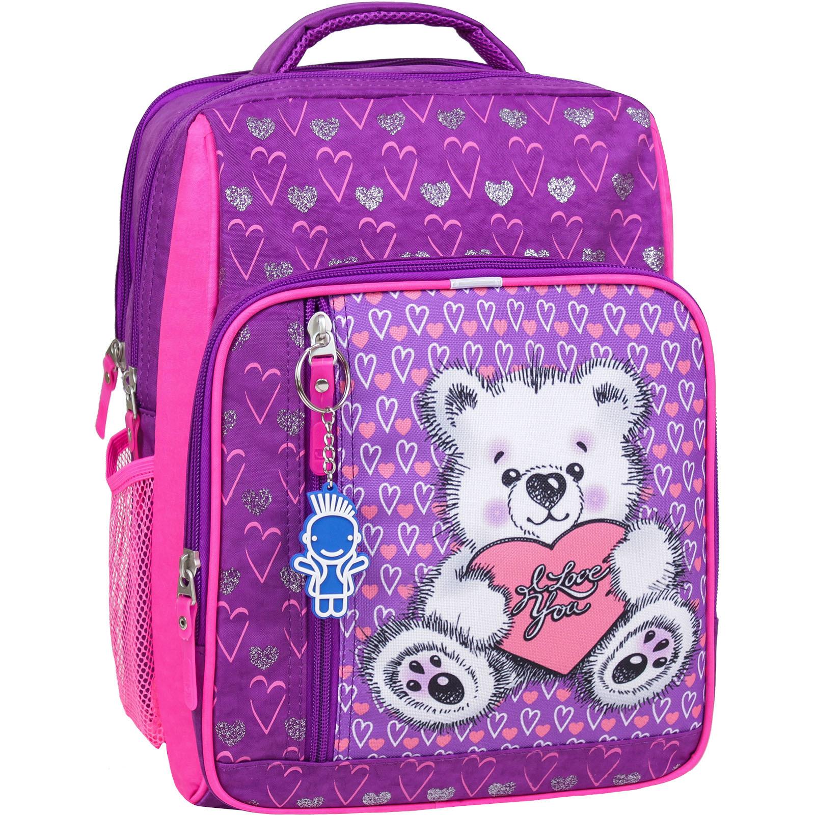 Школьные рюкзаки Рюкзак школьный Bagland Школьник 8 л. фиолетовый 377 (0012870) IMG_5881-1600-377.jpg