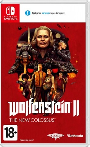Wolfenstein II: The New Colossus (Nintendo Switch, русская версия)