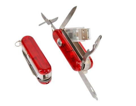 usb-флешка швейцарский ножик