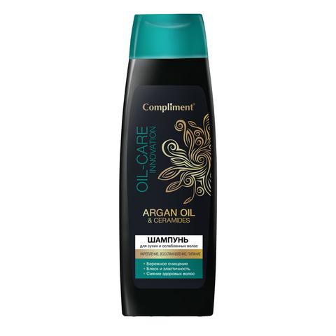 Compliment Шампунь АRGAN OIL & CERAMIDES для сухих и ослабленных волос