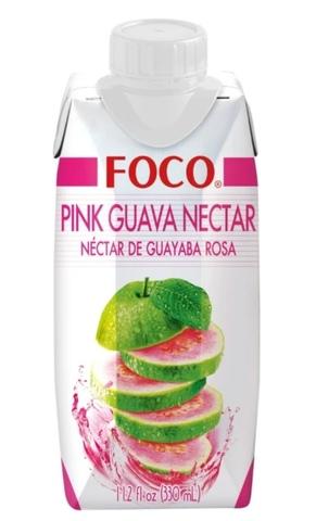 Нектар FOCO розовая гуава 330 мл