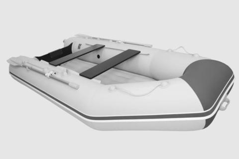 Лодка ПВХ АКВА 3200 НДНД  светло-серый /графит
