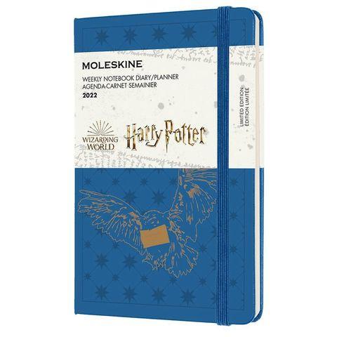 Еженедельник Moleskine (DHP12WN2Y22) LE Harry Potter WKNT Pocket 90x140мм 144стр. синий