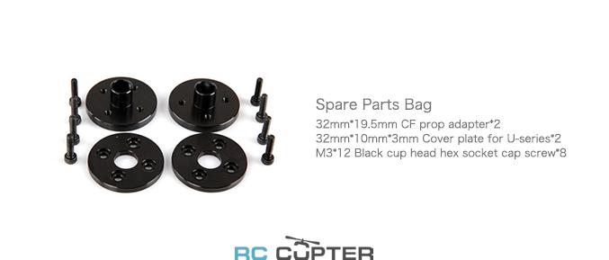 Крепежи для карбонового составного пропеллера G 29 x 9.5 T-Motor