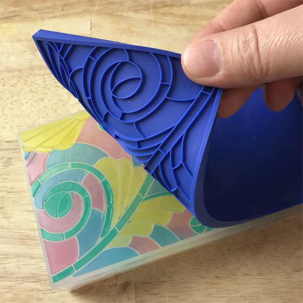 Текстурный лист для мыла Витраж